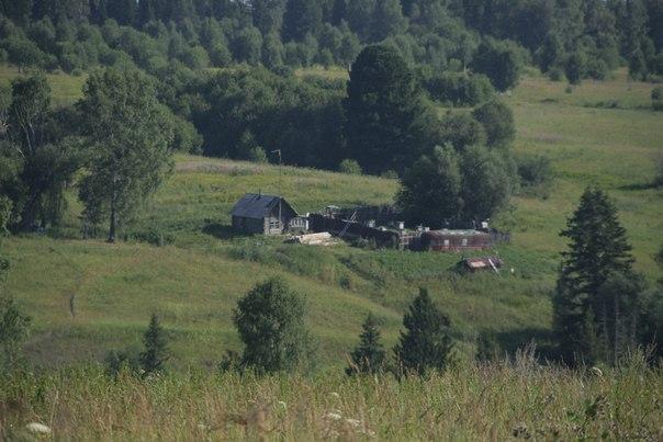 Домик в Сибирсой Тайге