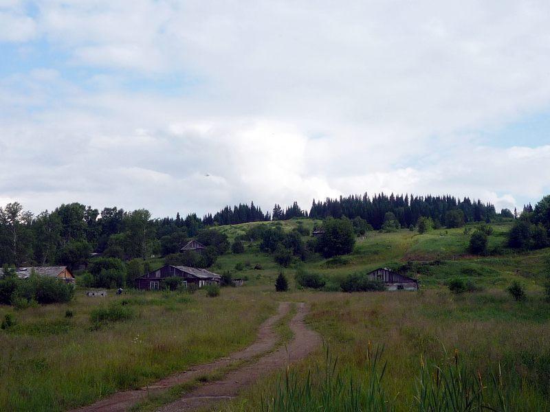Кузбасская таёжная деревня