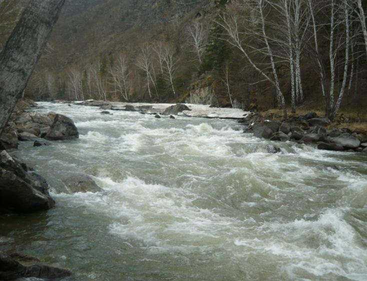 Экстримальный рафтинг в Сибири