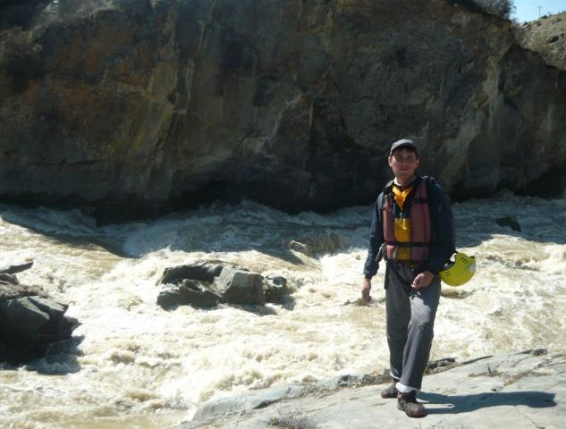 Бурные реки горного Алтая