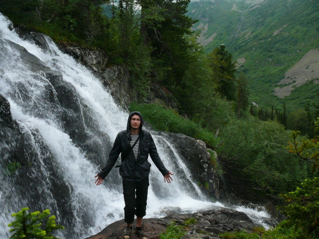 Водопад в Кузнецком Алатау