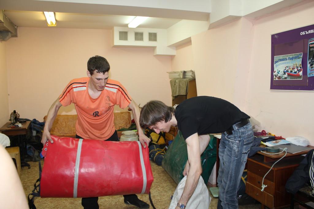 Сборы на сплав в Кемерово