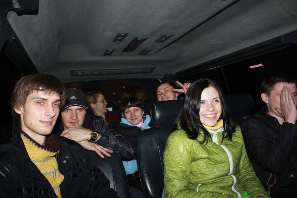 В автобусе на Мундыбаш