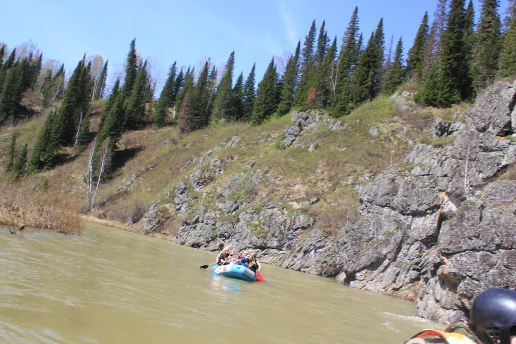 Сплав по горной реке для новичков