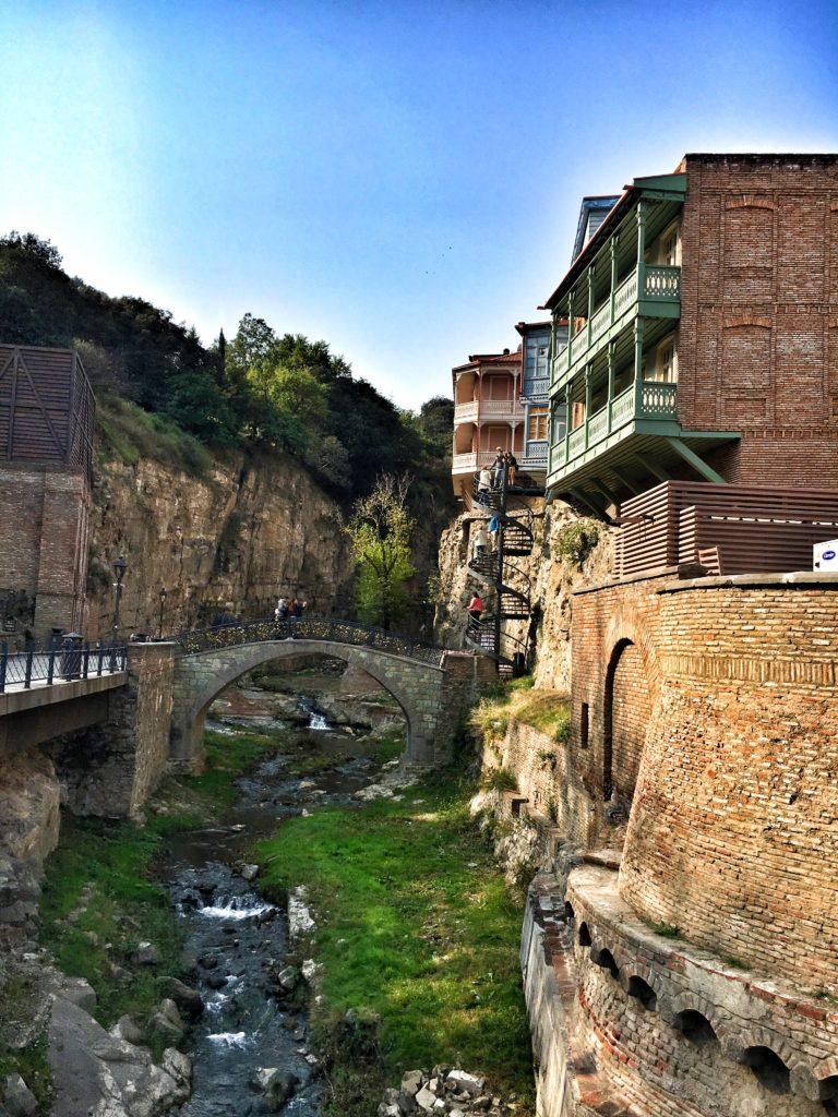 Река-Ручей в Тбилиси